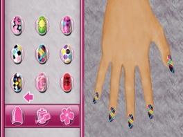 Wie wil er nou geen nagellak in een regenboogpatroon?