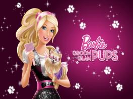 Hondjes fabulous maken doe je samen met Barbie.