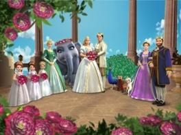 Ik had nooit gedacht een olifant te hebben als getuige op mijn bruiloft.