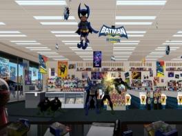 Batman in de stripwinkel! en daarom moeten er meer stripwinkels in nederland komen!