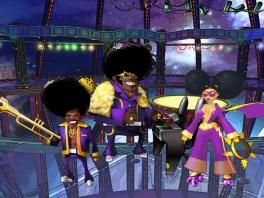 Speel als verschillende bands, zoals deze discogasten!