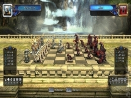 In deze schaakgame zijn er nieuwe regels toegepast waardoor het bijna een tactische rpg is geworden.