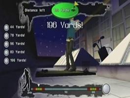 Beastly heeft enkele mini games, zoals dit golf spelletje.