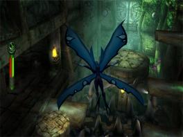 """""""Vier grote vleugels en helemaal blauw, wat 'mot' dat hier in mijn gebouw?"""""""