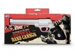 <a href = https://www.mariowii.nl/wii_spel_info.php?Nintendo=The_House_of_the_Dead_Overkill>The House of the Dead Overkill</a> variant van deze Cannon. Gun is hetzelfde maar dan met gave doos!