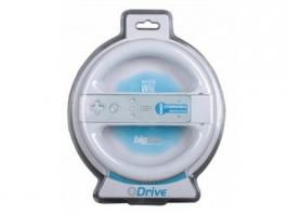 De Wii Drive in zijn opvallende verpakking.