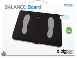 De Big Ben Balance Board kan wel 150 kilo verdragen!