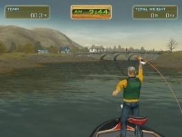 Deze man is wel heel gespierd voor een fulltime-visser!