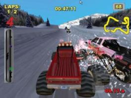 Dit is mijn favoriete auto om mee te racen. Hij maakt goede bochten en dat vind ik erg handig!