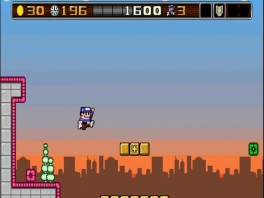 Speel als Bit Boy, die je hier kan zien in 8-bit!