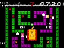 Hier zie je 8 Bit. Het spel lijkt erg op <a href = https://www.mario64.nl/Nintendo64_Namco_Museum_USA.htm target = _blank>Pacman</a>.