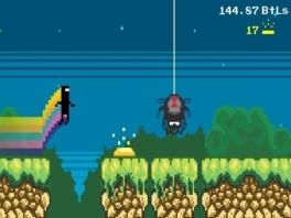 CommanderVideo, oorspronkelijk Nyan Cat, speelt de hoofdrol in alle games op deze disk!