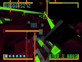 De blokjes komen van alle kanten en het doel is om ze via de juiste lijn ze te raken met je laserstraal.