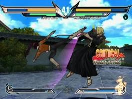 Je speelt met de figuren uit de anime, zoals Ichigo en Rukia.