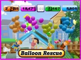 Het spel bestaat uit verschillende huis-tuin-en-keuken mini-games