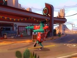 Een van de mooie dingen in dit spel is dat je overal kan dansen!