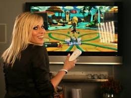 Je bestuurt deze game volledig door met de Wiimote te bewegen.