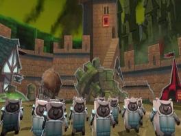 Boom Blox heeft een bijzondere gameplay, namelijk het omgooien van blokkentorens.