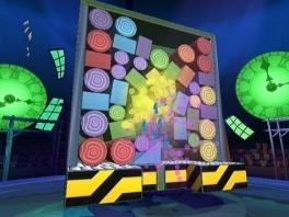 Punten scoren door te verven klinkt gek, maar het kan toch met Boom Blox Smash Party.