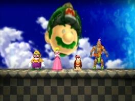 Klassieke Nintendo-personages als Wario en Peach, maar er zijn ook Dragon Quest-characters