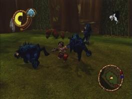 Deze game is volledig historisch correct, dus vecht net als de echte indianen tegen ondode monsters!