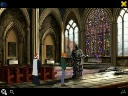 Onderzoek kerken, tempels en andere mysterieuze locaties om de raadsels op te lossen.
