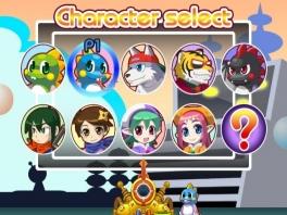 10 personages vonden ze teveel, dus hebben ze er een vervangen voor de random-knop...