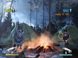 Deze wolven komen niet voor een slaapfeestje! Schiet op!
