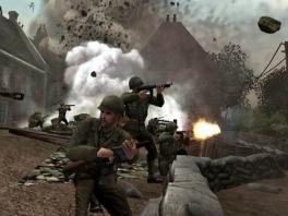 Je speelt als een gewone soldaat, vechtend in de Tweede Wereldoorlog.