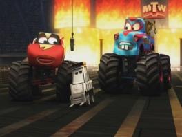 Speel als Takel en zijn beste vriend Bliksem McQueen!