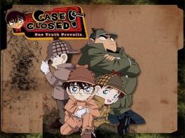 Speel als Jimmy Kudo, beter bekend als Conan, leider van de Junior Detective League