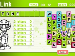 Deze meneer is zo vrij geweest om je te laten weten hoeveel woorden met hoeveel letters je al hebt gehad.