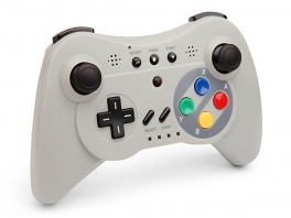 Deze second Party Pro-controller is geïnspireerd op de SNES-controller...