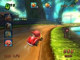 Deze game mag dan een beetje een <a href = https://www.mariowii.nl/wii_spel_info.php?Nintendo=Mario_Kart_Wii>Mario Kart</a>-kloon zijn, maar het is wel één van de betere.