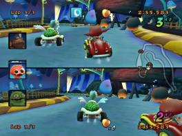 Een kartracer zonder multiplayer is natuurlijk geen kartracer!