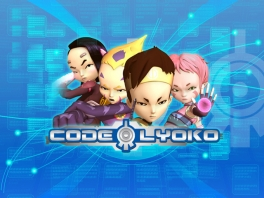 Ulrich, Odd, Yumi en Aelita zijn de speelbare personages in de digitale wereld van Code Lyoko