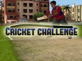 De echte 'challenge' ligt hem in het wakker blijven tijdens de Cricket wedstrijd...