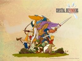De karakters in de game doen erg denken aan de vroege final Fantasy-games voor de NES.