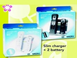 Er is ook een zwarte variant van de <a href = https://www.mariowii.nl/wii_spel_info.php?Nintendo=D3mon_Slim_Charger_Battery_Pack>D3mon Slim Charger Battery Pack</a>.
