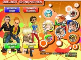 De speelbare characters zijn hetzelfde als in de vorige delen.