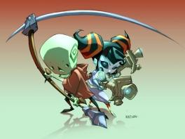 Als Death Jr. en Pandora ga je de strijd aan met allerlei soorten monsters en slechteriken
