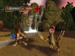 In deze game speel je als jezelf en knal je dinos overhoop voor dat ze jou mollen.