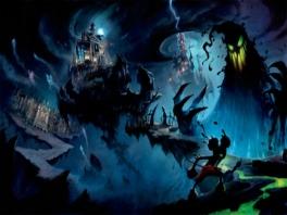 Epic <a href = https://www.mario64.nl/Nintendo64_Mickeys_Speedway_USA.htm target = _blank>Mickey</a> laat de donkere kant van Disney zien, eng!