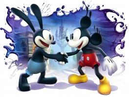Speel als Mickey én als zijn voorganger Oswald the Rabbit!