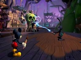 Ja Mickey, daar sta je dan met je lullige verfkwastje...