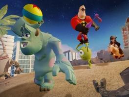 Speel met verschillende Disney figuren als Jack Sparrow, Mr Incredible of Sully!