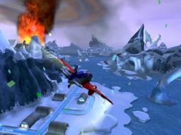 Oh nee! Het ijs staat in brand!