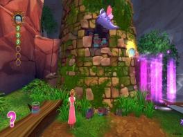 Kom op <a href = https://www.mariowii.nl/wii_spel_info.php?Nintendo=Disney_Rapunzel>Rapunzel</a>! Gooi je haar omhoog om te klimmen!