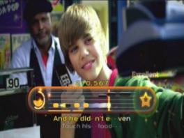 Justin Bieber kon natuurlijk niet ontbreken.