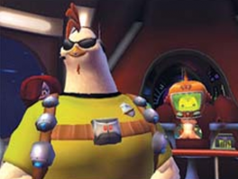 Je speelt met Ace, het stoere alter ego van Chicken Little.